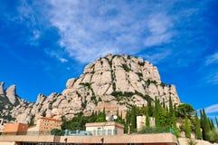 Paesaggio della montagna di Pictoresque in Spagna Immagine Stock