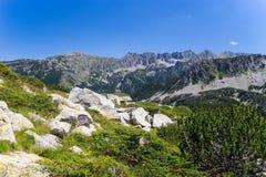 Paesaggio della montagna di Pirin Fotografia Stock Libera da Diritti