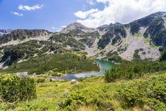 Paesaggio della montagna di Pirin Fotografie Stock
