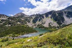 Paesaggio della montagna di Pirin Fotografia Stock
