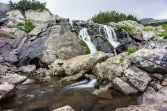 Paesaggio della montagna di Pirin Immagini Stock