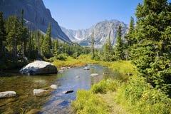 Paesaggio della montagna di Rockt fotografia stock libera da diritti