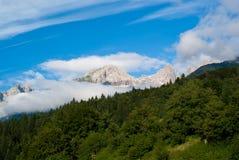 Paesaggio della montagna di Trentino fotografia stock libera da diritti