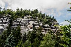 Paesaggio della montagna in Germania fotografie stock