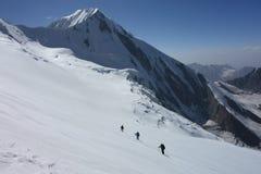 Paesaggio della montagna. Il tetto del mondo immagini stock