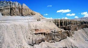 Paesaggio della montagna. Il Tibet Immagine Stock