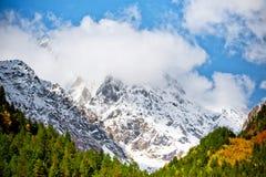 Paesaggio della montagna - immagine di riserva Fotografie Stock Libere da Diritti