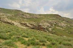 Paesaggio della montagna, Kirghizistan Immagine Stock Libera da Diritti