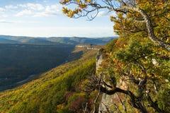 Paesaggio della montagna nel giorno soleggiato uguagliante fotografia stock