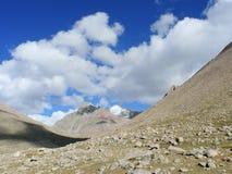 Paesaggio della montagna nel Tibet Fotografie Stock Libere da Diritti