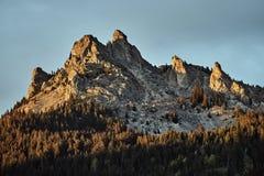 Paesaggio della montagna nelle alpi Fotografia Stock Libera da Diritti