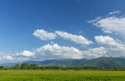 Paesaggio della montagna nelle alpi, di estate Immagini Stock Libere da Diritti