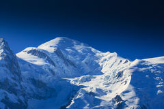 Paesaggio della montagna nelle alpi francesi di estate Immagine Stock Libera da Diritti
