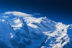 Paesaggio della montagna nelle alpi francesi di estate Fotografie Stock