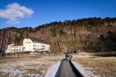 Paesaggio della montagna a Nikko, Giappone Immagine Stock