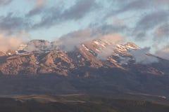 Paesaggio della montagna, Nuova Zelanda fotografia stock