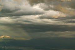 Paesaggio della montagna a Phu Thap Boek Fotografie Stock Libere da Diritti