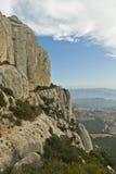 Paesaggio della montagna rocciosa Immagini Stock