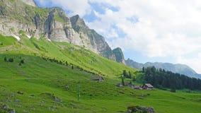 Paesaggio della montagna in Svizzera, Europa Fotografia Stock Libera da Diritti