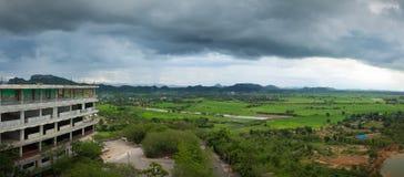 Paesaggio della montagna in Tailandia Fotografia Stock