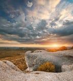 Paesaggio della natura della montagna Immagine Stock Libera da Diritti