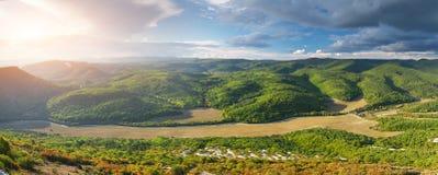 Paesaggio della natura della montagna Fotografia Stock Libera da Diritti