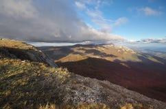 Paesaggio della natura di autunno della montagna Immagini Stock Libere da Diritti