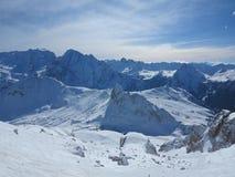 Paesaggio della natura di inverno Fotografia Stock Libera da Diritti