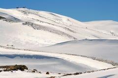 Paesaggio della neve Immagine Stock Libera da Diritti