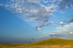 Paesaggio della prateria Fotografie Stock
