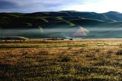 Paesaggio della prateria della torretta dell'antenato Immagine Stock