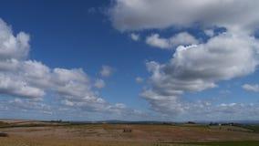 Paesaggio della primavera & cielo, Cornovaglia, Regno Unito Fotografia Stock