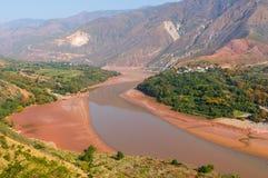Paesaggio della provincia di Yunnan della Cina Immagine Stock Libera da Diritti