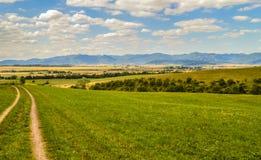 Paesaggio della regione montana Immagine Stock Libera da Diritti