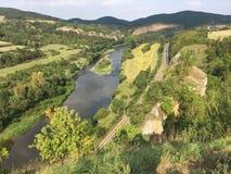 Paesaggio della repubblica ceca fotografia stock