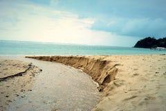 Paesaggio della riva Immagini Stock Libere da Diritti