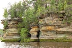 Paesaggio della roccia Fotografia Stock