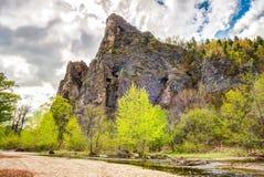 Paesaggio della roccia - alta immagine della gamma dinamica Immagini Stock Libere da Diritti