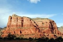 Paesaggio della roccia della cattedrale a Sedona Arizona Fotografia Stock Libera da Diritti