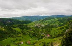 Paesaggio della Romania Fotografia Stock
