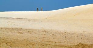 Paesaggio della sabbia Immagini Stock