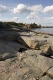 Paesaggio della scogliera Fotografie Stock