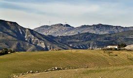 Paesaggio della Sicilia Fotografia Stock