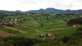 Paesaggio della Slovenia Immagini Stock Libere da Diritti
