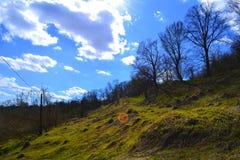 Paesaggio della sorgente Fotografia Stock
