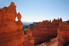 Paesaggio della sosta nazionale del canyon di Bryce fotografie stock