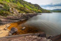 Paesaggio della sosta nazionale di Killarney Fotografia Stock