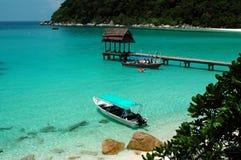 Paesaggio della spiaggia Fotografie Stock Libere da Diritti