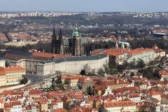Paesaggio della st Vitus Cathedral Fotografia Stock Libera da Diritti