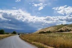 Paesaggio della strada Fotografia Stock